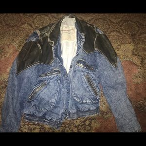Vintage Guess Jeans Georges Marciano Denim Jacket